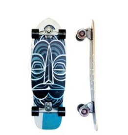 """Skate Carver Skateboards 32"""" Inallofus C7 Complete"""