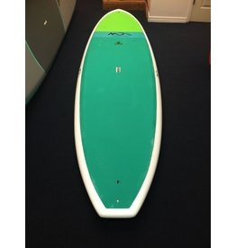 Dolsey Michael Dolsey Designs EZ Wider Teal Pad White SUP Board