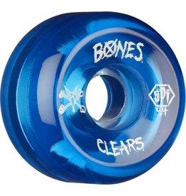 Skate One BONES WHEELS SPF Clear Blue 54mm 4pk