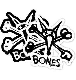 "Skate BONES WHEELS Vato Stacked 6"" single sticker"