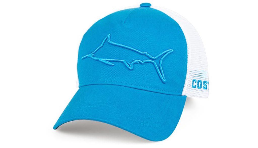 COSTA Costa Del Mar Stealth Marlin Costa Blue/White Hat