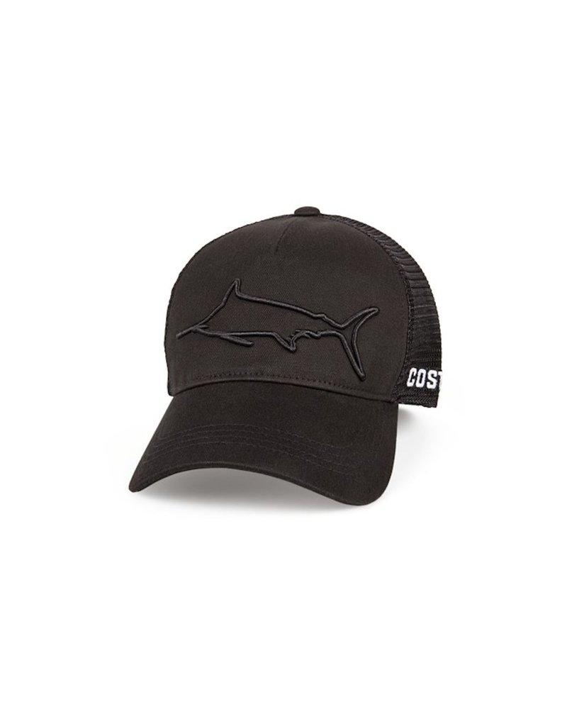 COSTA Costa Del Mar Stealth Marlin Black Hat