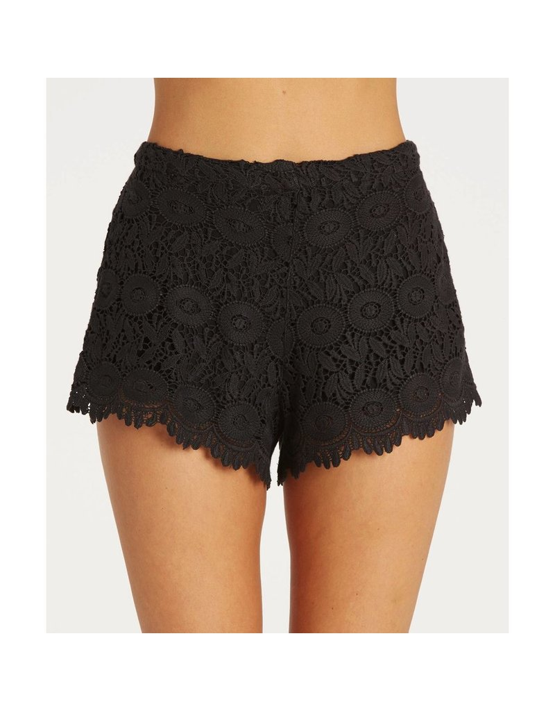 Billabong Billabong Womens Heavenly Skies Crochet Shorts