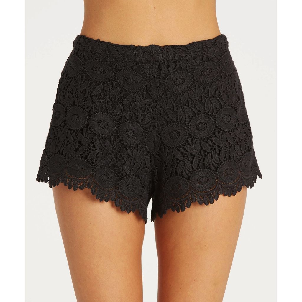 Billabong Billabong Womens Heavenly Skies Crochet Shorts