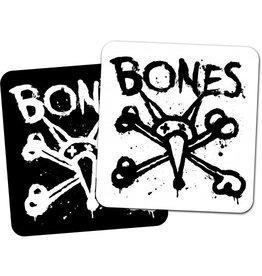 "Skate BONES WHEELS Vato Op Square 4"" Single Sticker"