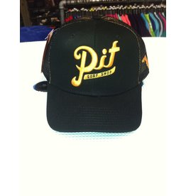 Pit Gear Pit Surf Shop Hat Trucker Gold