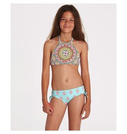 Billabong Billabong Girls Samsara Hi Neck Bikini Set