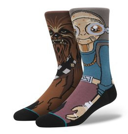 Stance Stance Kanata Socks Star Wars Maz Kanata Chewbacca Authentic Brand New Release