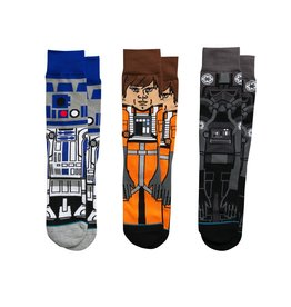 Stance Stance A New Hope Box Set 3 Pairs Of Socks Star Wars Authentic Brand New Release