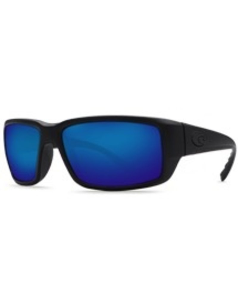 COSTA Costa Del Mar Fantail Blackout Blue Mirror 580G Sunglasses