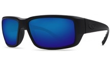 COSTA Costa Del Mar Fantail Blackout Blue Mirror 580G Sunglasses