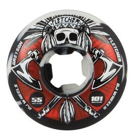 NHS OJs 55mm Fletcher Tomahawk 101a Wheel Set