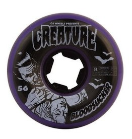 NHS OJs 56mm Creature Bloodsucker Fives 99a Wheel Set