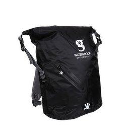 Geckobrands Geckobrands Waterproof Lightweight Backpack Black