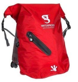Geckobrands Geckobrands Waterproof Lightweight Backpack Red