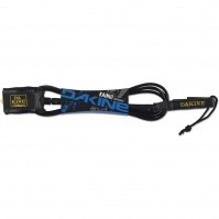 "Dakine Dakine 10'x1/4"" Longboard Leash Black Surfing"