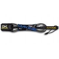 """Dakine Dakine 10'x1/4"""" Longboard Leash Black Clear Surfing"""