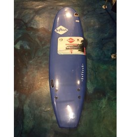 Surf Hardware Softech 6' Hand Shaped Light Blue Softop Surboard