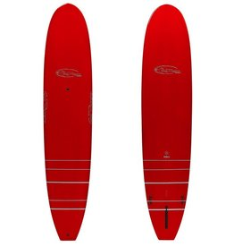 Guy Takayama Guy Takayama Hoku GT2 9'5 Full Xeon Fiberglass Performance Longboard - Red