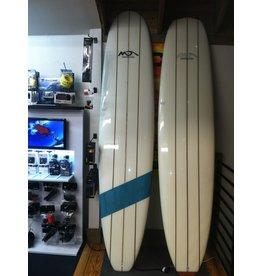 Dolsey Dolsey Surfboards LTS Poly Triple Stringer Blue Stripe 9' Longboard
