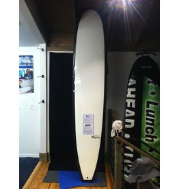 Guy Takayama Guy Takayama Kanoloa 10'0 Xeon Fiberglass w/ Carbon Fiber Rails Performance Single Fin - White