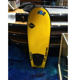 "Surf Hardware Softech Rocket Fuel 56"" Yellow Softboard Funboard Surfing"