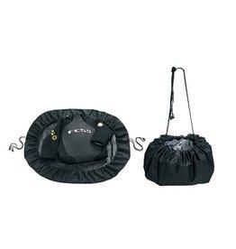 FCS FCS Change Mat / Wet Bag Black Surfing Beach