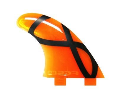 FCS M5 IFT Orange Softflex Tri Fin Set