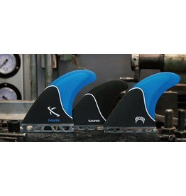 Futures Fins Lost Large 5-Fin Blue Smoke Carbon Surfboard Fins Matt Biolos