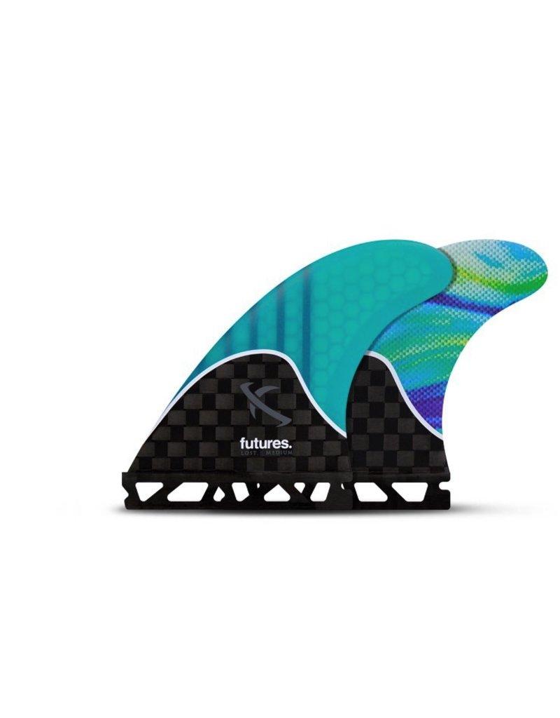 Futures Fins MB2 Honeycomb Thruster Surfboard Fins Matt Biolos Lost