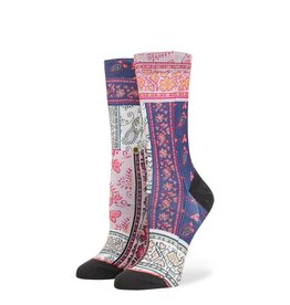 Stance Stance Alien Acid Socks Multi Womens M 8-10.5