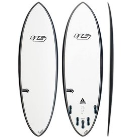 "GSI Hayden Shapes Hypto Krypto 6'4"" x 21 x 3  43.23L FCSII V Clear"