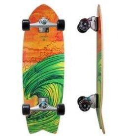 "Skate Carver Skateboard 29"" Swallow C7 Complete"