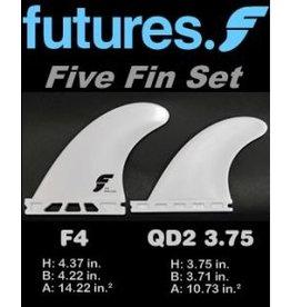 Futures Fins Futures F4 Tri-Quad 5 Fin Set