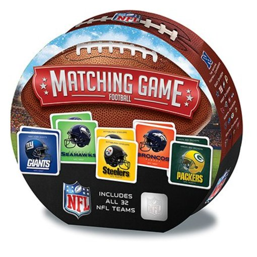 MASTER PIECES NFL MATCHING GAME