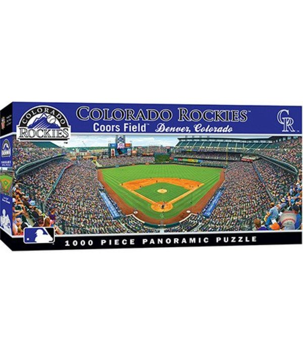 MASTER PIECES COLORADO ROCKIES 1000PC PANORAMIC PUZZLE
