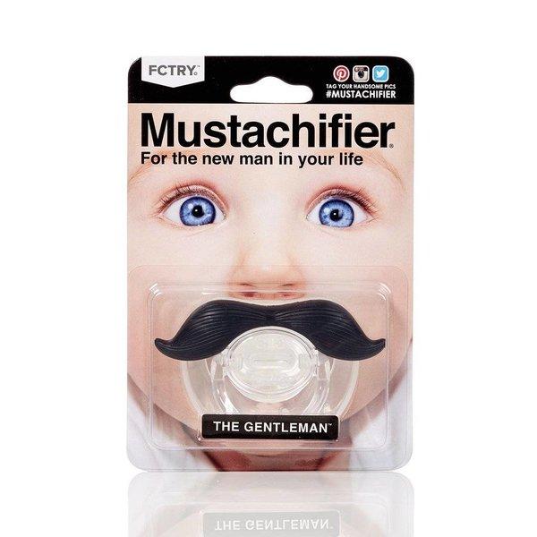 MUSTACHIFIER PACIFIER - BLACK