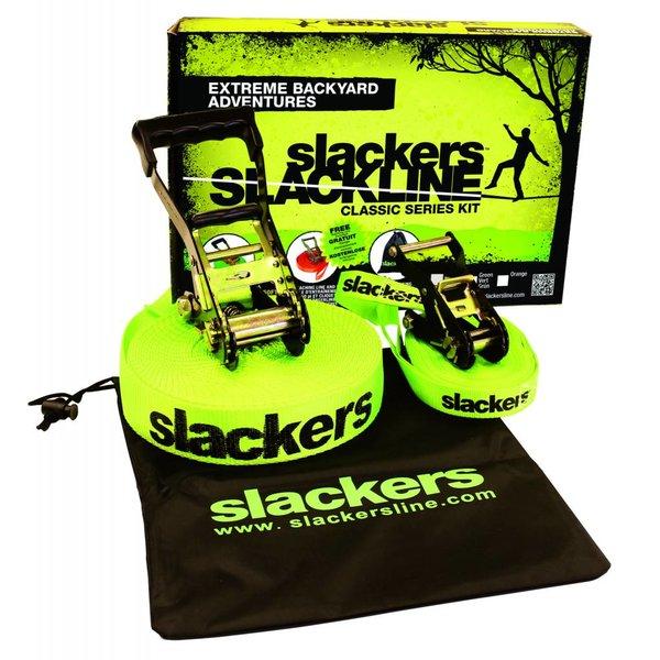 SLACKLINE CLASSIC KIT - GREEN