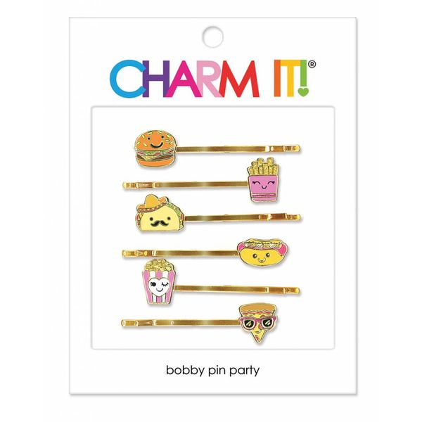 FOOD BOBBY PIN PARTY SET