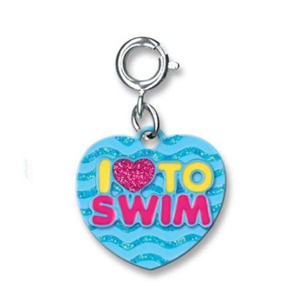 I LOVE TO SWIM CHARM