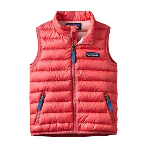 PINK BABY DOWN SWEATER VEST