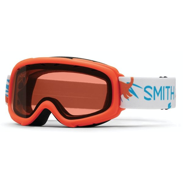 GAMBLER GOGGLES - ORANGE DINO - YOUTH MEDIUM