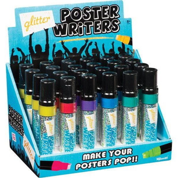 GLITTER POSTER WRITERS