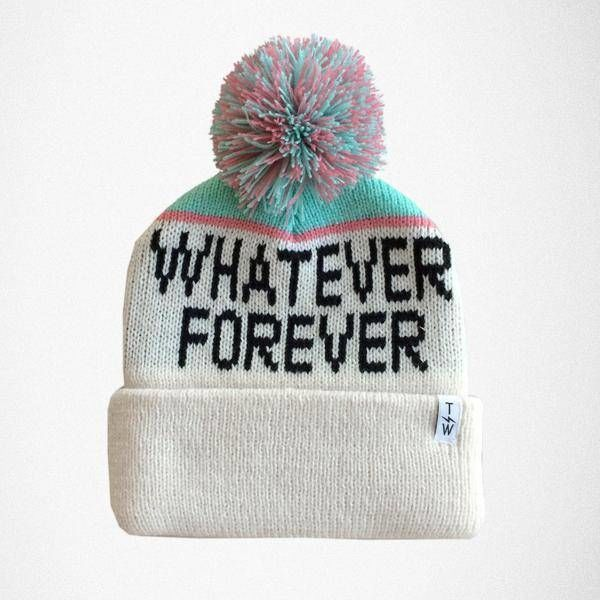 WHATEVER FOREVER BEANIE