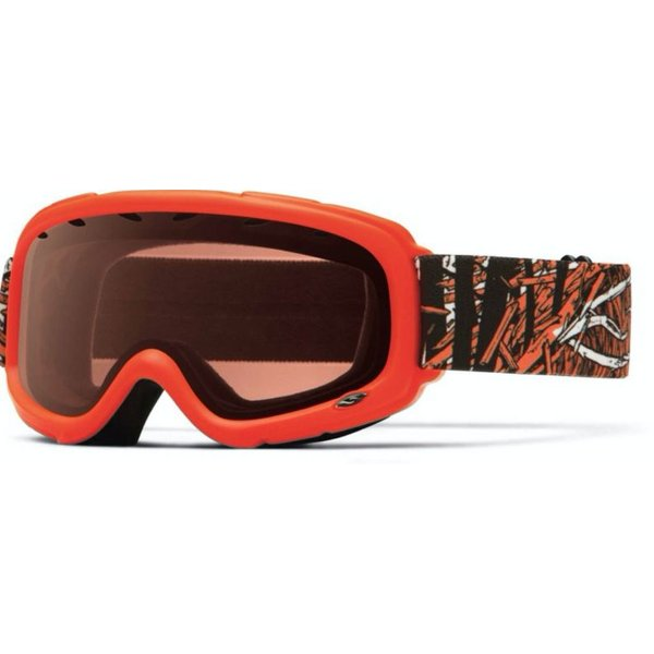GAMBLER GOGGLES - NEON ORANGE - YOUTH MEDIUM