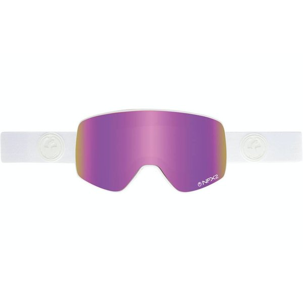 NFX2 GOGGLE - WHITE OUT/PINK ION -- MEDIUM ADULT