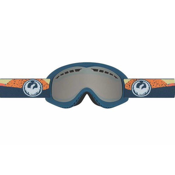 DXS GOGGLE - KICK ORANGE/IONIZED - SMALL ADULT