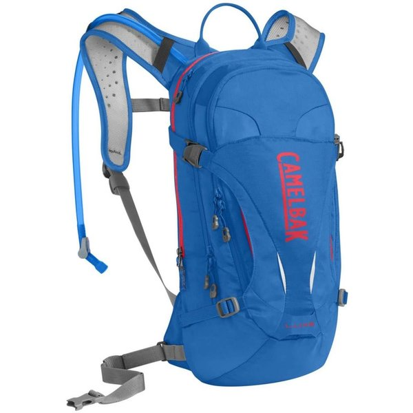 LUXE CAMELBAK - CARVE BLUE / FIERY CORAL