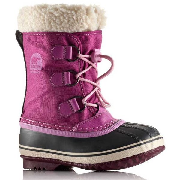 CHILDREN'S YOOT PAC NYLON BOOT - BERRY
