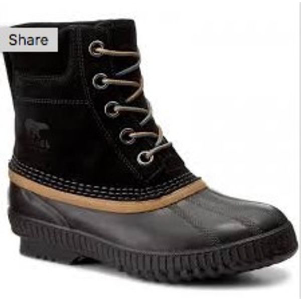 YOUTH CHEYANNE LACE II BOOT - BLACK